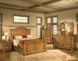 inexpensive rustic furniture light pine bedroom mahogany set log