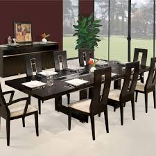 expanding dining table novo extendable dining table