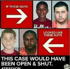 Trayvon Meme - if trayvon martin was white brown girl wild world