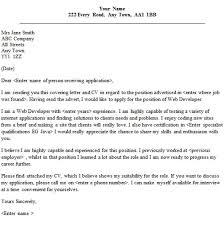 java web developer cover letter