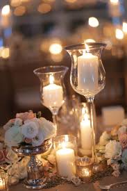 wedding candle centerpiece ideas romantic candle centerpiece