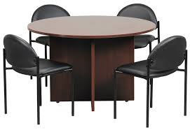 small round office table round office table and chairs home and design gallery throughout