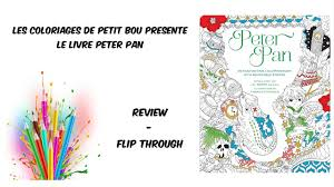peter pan coloring book youtube