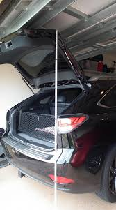 lifted lexus rx what is the height of a 2015 rx 350 awd with the liftgate fully