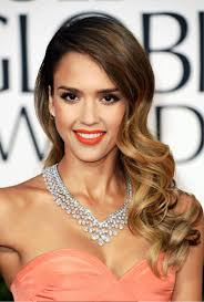 pictures of jessica alba long wavy hairstyle 2013