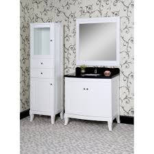 classic 36 inch traditional single sink bathroom vanity white finish