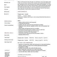 nanny duties resume baby room u2013 lidazayiflama info