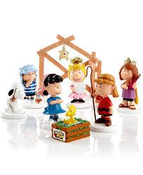 department 56 peanuts peanuts 8 nativity set