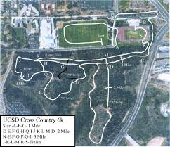 Ucsd Campus Map Photo Gallery Cross Country Course Maps Ucsdtritons Com