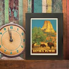 Wyoming travel accessories images Anderson design group american travel devil 39 s tower wyoming jpg
