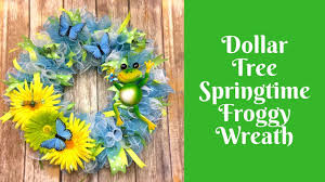 springtime wreaths wonderful wreaths dollar tree springtime wreath youtube