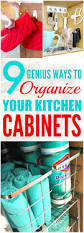 Kitchen Cabinet Organizing 9 Kitchen Cabinet Organization Ideas That Are Beyond Easy