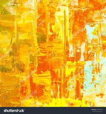 hand drawn oil painting abstract art stock illustration 358455233
