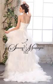 robe mari e courte devant longue derriere robe de mariee courte devant et longue derriere en mouchoir de