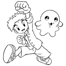 digimon coloring pages bestofcoloring