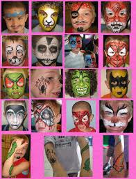 halloween paintings ideas easy kids face paint ideas check out these great faces a face