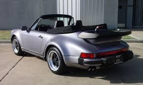 1989 Porsche 911 Turbo Cabriolet German Cars For Sale Blog