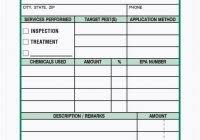 pest control survey report format and pest control forms templates