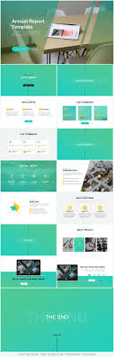 annual report ppt template annual report powerpoint template just free slides