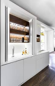 modern small kitchen design idea by mkca incorporates versatility