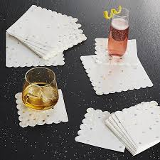 paper napkins party confetti large paper napkins set of 16 crate and barrel