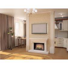 Electric Inserts For Existing Fireplaces 24 Inch Convert To Ethanol Fireplace Log Set With Burner Insert From