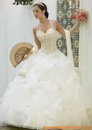 robe de mari e de princesse de luxe robe de mariée princesse de luxe organza bouillons fleurs