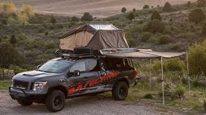 nissan titan off road nissan titan xd project basecamp for overlanding enthusiasts