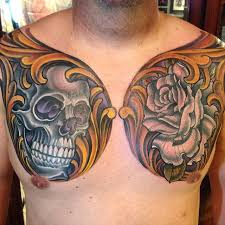 skull and chest remington