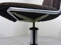 Esszimmerst Le Cord 356 Kord Schreibtischstuhl Von Gispen Bei Pamono Kaufen