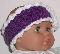 headbands for baby purple baby ear warmer babies headband infant girl white soft