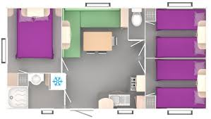mobilhome 3 chambres location mobil home trigano 3 chambres 6 8 places avec terrasse