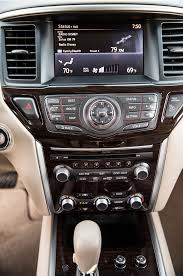 nissan pathfinder 2013 interior 2013 family crossover comparison day five automobile magazine