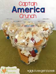 captain america crunch fun avengers movie night snack by green