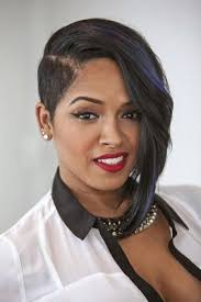 short hair one side and long other black women short cuts short hairstyles 2016 2017 most