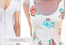 dress pattern without darts how to make a dart to create contours sew4home