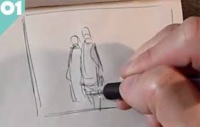 learn the basics of sketching on location fast