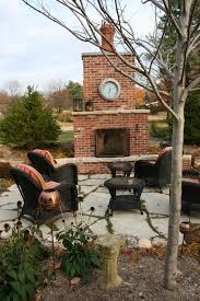 Outdoor Metal Fireplaces - outdoor fireplaces st louis poynter landscape