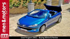 used peugeot used peugeot 206cc buying advice u0026 review youtube