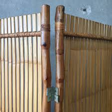 japanese modern vintage mid century japanese modern bamboo screen divider