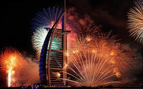 Burj Al Arab burj al arab fireworks