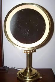 lighted magnifying makeup mirror 65 tonjon rotating brass nova lighted magnifying makeup mirror free