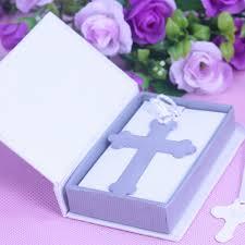 communion favors wholesale 20pcs boxed blessings silver bible cross bookmark bridal baby shower