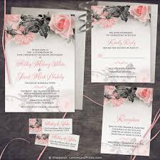 wedding invitations rose wedding invitations wedding stationery wasootch blog wasootch