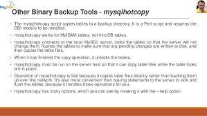 Copy Table Mysql Mysql Dba Training Session 10 Backup And Recovery In Mysql