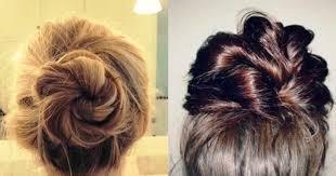 different hair buns trending buns styleupnow