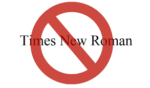 What Is The Best Font To Use For Resumes by Why Times New Roman Is An Awful Font To Use On Your Résumé