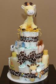 cake gift baskets giraffe cake diy baby shower gift basket ideas for boys