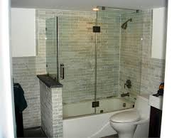 Shower Stall As Partitions Bathroom Cool One Piece Tub Shower Units Home Depot 9 Delta