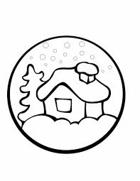 preschool christmas coloring pages learn coloring